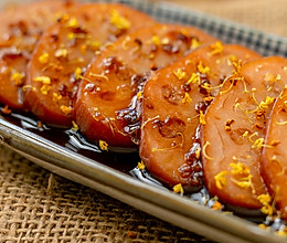 #一道菜表白豆果美食#桂花糯米藕|清甜软糯的做法