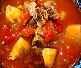 美味又营养の牛肉苏伯汤的做法