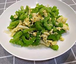 苦瓜炒鸡蛋——有味的做法