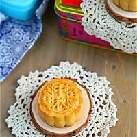 广式莲蓉蛋黄月饼#手作月饼#的做法图解16