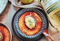 葱油鲍鱼蒸水蛋的做法
