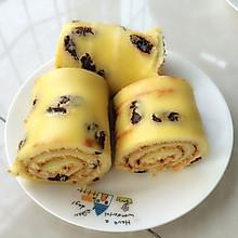 葡萄干蛋糕卷