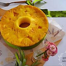 菠萝翻转蛋糕#豆果5周年#