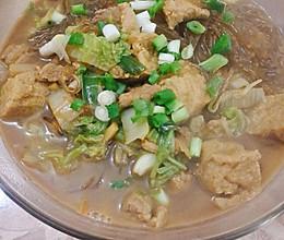 猪肉炖油豆腐的做法