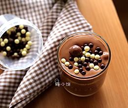 无添加凝结剂【巧克力慕斯杯】不需要烤箱、新手也能胜任的做法