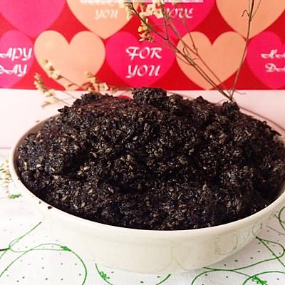 【女王厨房】自制月饼芝麻馅