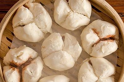 【叉烧包】南方肉包第一名,松软香浓肉味足!