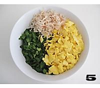 韭菜鸡蛋馅饼的做法图解5