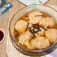 #花10分钟,做一道菜!#鲜虾云吞-快手早餐