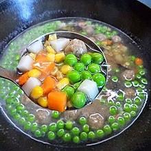 豌豆丸子汤