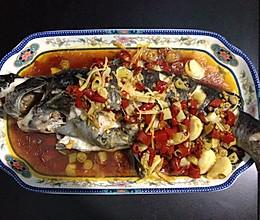 鲜辣钳鱼的做法