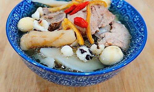 清补凉瘦肉汤——四季都可以喝的滋补汤,春去夏要来的做法