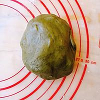 抹茶豆沙酥的做法图解2