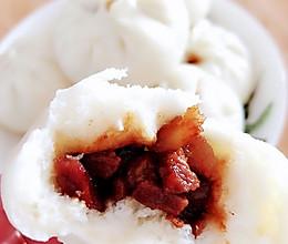 台湾卤肉包子的做法