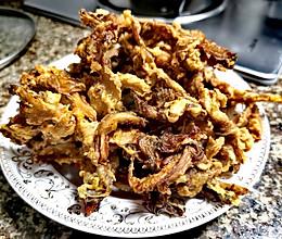油炸平菇(外脆里嫩)的做法