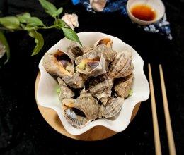 #晒出你的团圆大餐#白灼海螺的做法