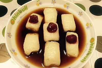 养生甜品——红糖糍粑(四川小吃)