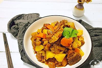 软烂醇香:牛肉炖土豆