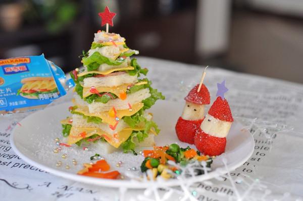 圣诞芝士儿童餐#百吉福冬季芝恋#的做法