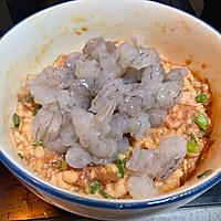虾仁鲜肉蒸饺简单美味早餐家常菜的做法图解3