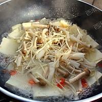 豆腐杂菌煲#美极鲜味汁#的做法图解4