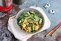 #全电厨王料理挑战赛热力开战!#低脂低卡的秋葵炒鸡蛋的做法