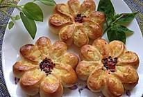 【65度汤种椰蓉花形面包】春天应景的松软面包的做法