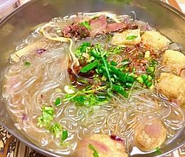 「温暖系」 | 呲溜的牛肉粉丝汤的做法