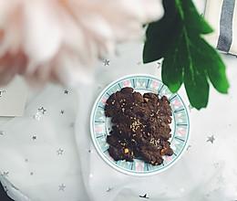 #硬核菜谱制作人#  给糖尿病人的荞麦桃酥的做法