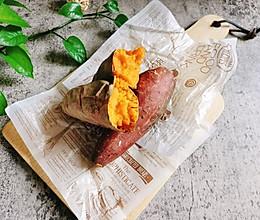 #入秋滋补正当时#烤红薯的做法