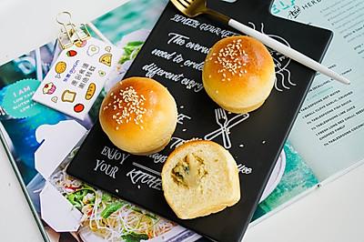 香葱肉松小面包