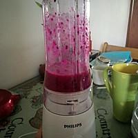 火龙果酸奶昔的做法图解3