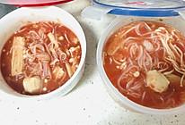 轻断食 200大卡备餐 鸡肉丸番茄浓汤的做法