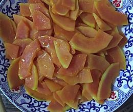 清炒木瓜的做法