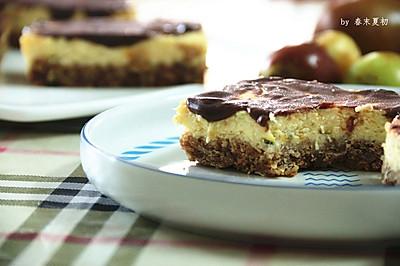 燕麦巧克力芝士蛋糕