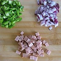 快手早餐——蔬菜烘蛋的做法图解1