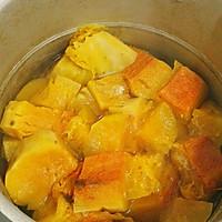 美味健康低脂的南瓜牛奶浓汤的做法图解2