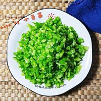 青椒炒肉沫#做道懒人菜,轻松享假期#的做法图解2
