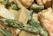 鲜虾芦笋土豆沙拉的做法