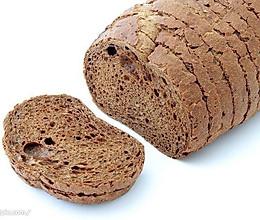 真正无油无糖全麦面包(面包机版)的做法