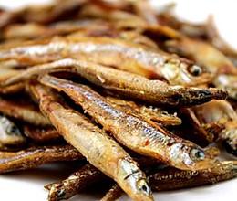生煎山溪小杂鱼的做法