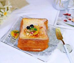 奶香芝士厚吐司#快手又营养,我家冬日必备的菜品#的做法