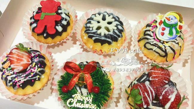圣诞坚果小蛋糕的做法