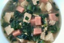 火腿豆腐羹的做法