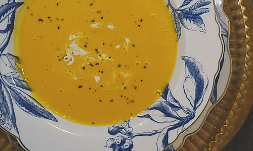 传统西式奶油南瓜汤的做法