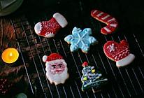 #令人羡慕的圣诞大餐#可爱美艳动人的糖霜曲奇饼干的做法