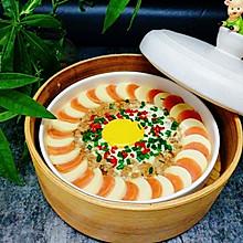 玉子豆腐蒸肉末鸡蛋#KitchenAid的美食故事#