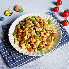给面一个特色吃法——丁丁炒面