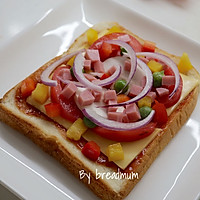 吐司批萨-5分钟搞定超简易的营养早餐的做法图解5