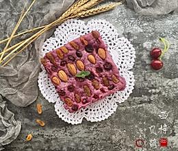 减肥减脂餐紫薯发糕#一汽呵成的做法